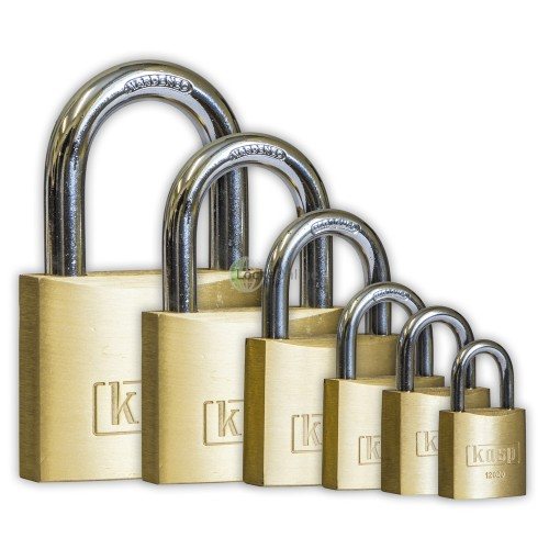 Main photo of KASP Brass Open Shackle Padlocks