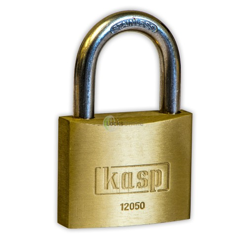 Main photo of KASP Brass Stainless Steel Shackle Padlock