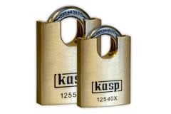 KASP Premium Brass Closed-Shackle Padlocks