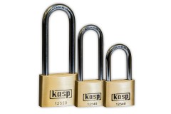 KASP Premium Brass Long-Shackle Padlocks