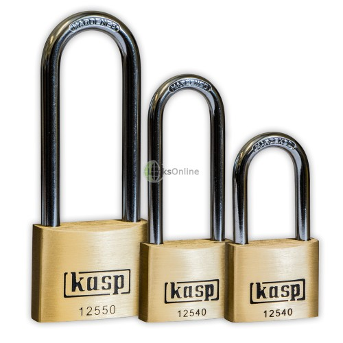 Main photo of KASP Premium Brass Long-Shackle Padlocks