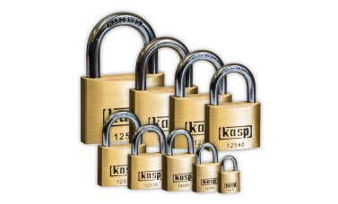 KASP Premium Brass Open-Shackle Padlocks