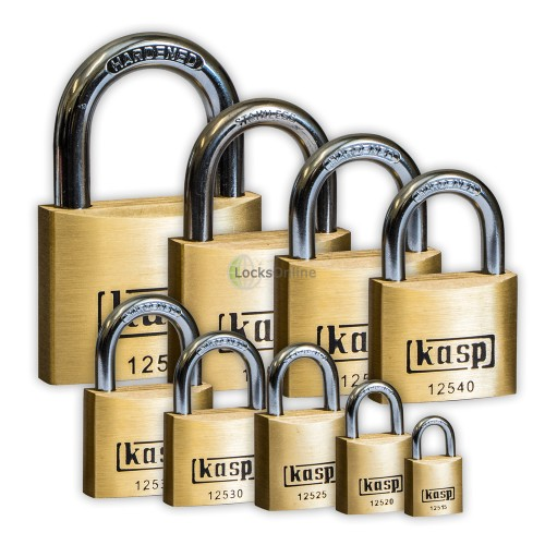 Main photo of KASP Premium Brass Open-Shackle Padlocks