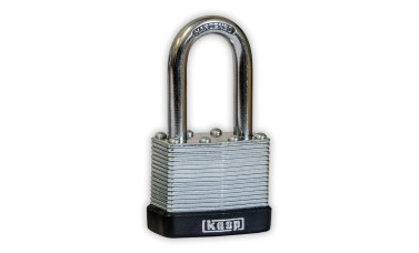 KASP Laminated Steel Long-Shackle Padlocks