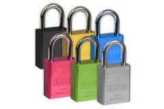 KASP Coloured Solid Aluminium Padlocks