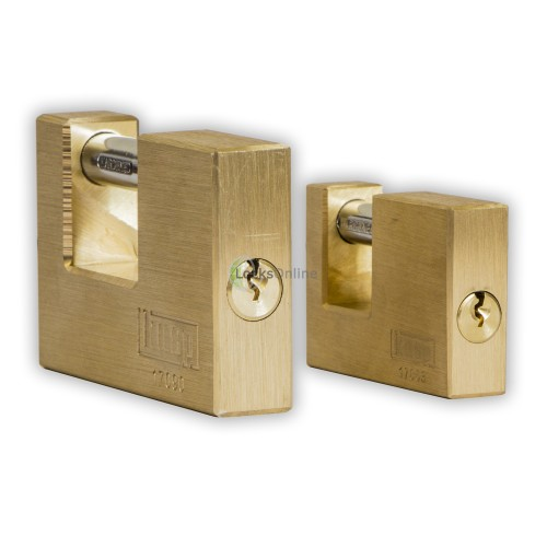 KASP Brass Sliding-Shackle Padlock