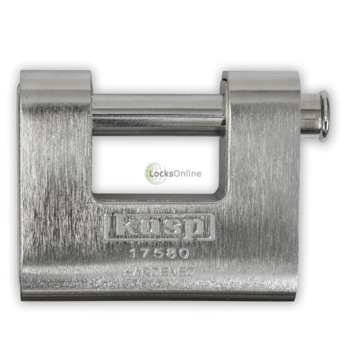KASP Armoured Sliding-Shackle Padlock
