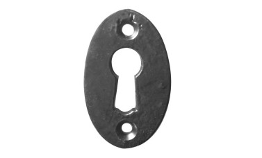 LocksOnline Black Antique Oval Escutcheon