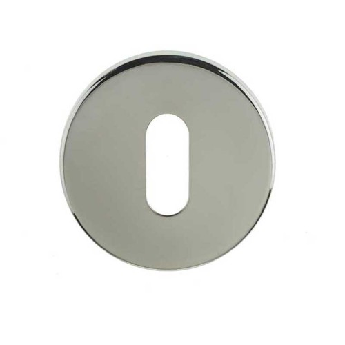 Main photo of LocksOnline Blank Stainless Steel Standard Keyhole Escutcheon