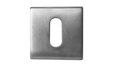 LocksOnline Square Standard Stainless Steel Escutcheon