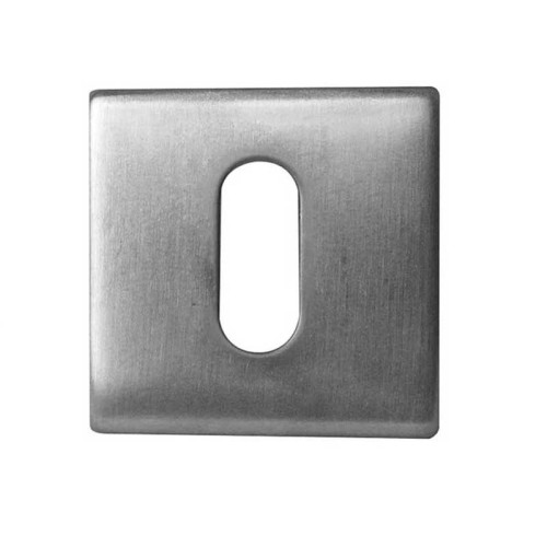 Main photo of LocksOnline Square Standard Stainless Steel Escutcheon