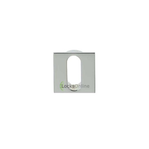 Main photo of LocksOnline Minimal Flush Fit Square Keyhole Escutcheon