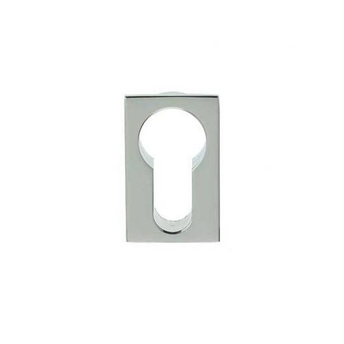 Main photo of LocksOnline Minimal Flush Euro Profile Rectangular Escutcheon