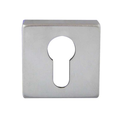 "Main photo of LocksOnline ""Rombo"" Square Euro Profile Escutcheon"