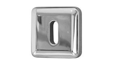 LocksOnline Square Bevelled Keyhole Escutcheon
