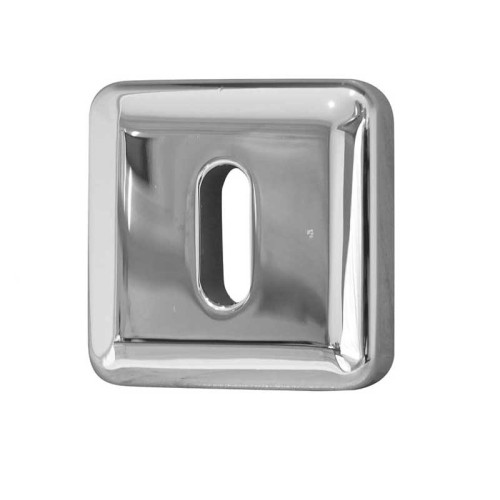 Main photo of LocksOnline Square Bevelled Keyhole Escutcheon