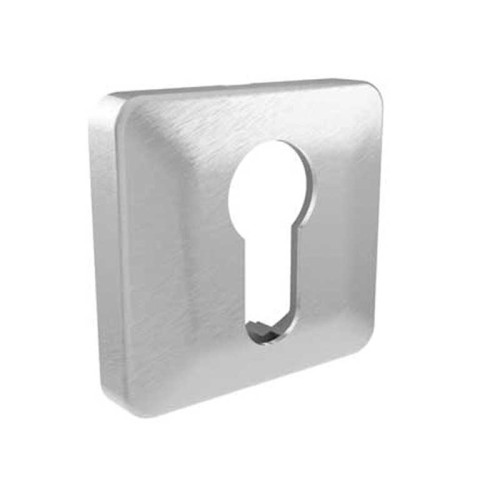 LocksOnline Square Bevelled Euro Profile Escutcheon