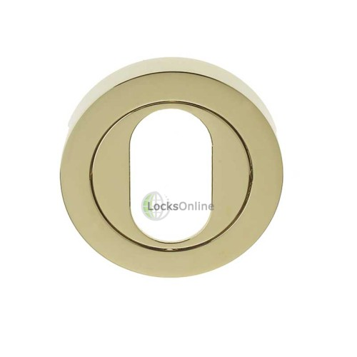 Main photo of LocksOnline Framed Circular Oval Profile Escutcheons