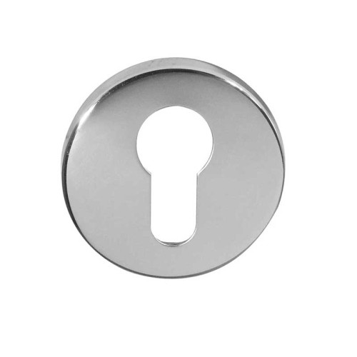 Main photo of LocksOnline Blank Circular Euro Profile Escutcheons