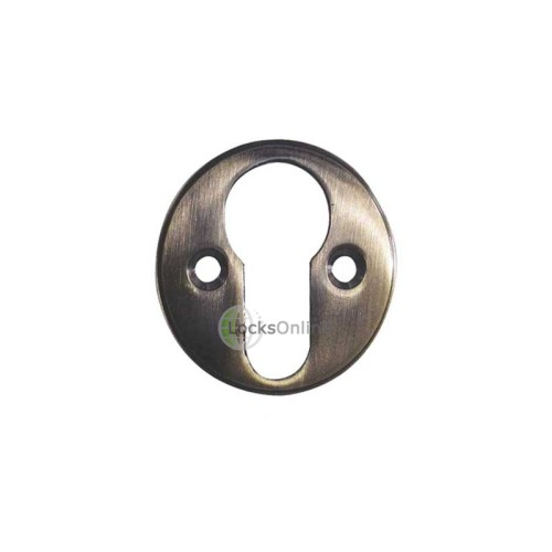 Main photo of LocksOnline Round Disc Euro Profile Escutcheons