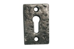 LocksOnline Pewter Rectangular Escutcheon