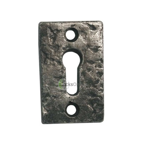 Main photo of LocksOnline Pewter Rectangular Escutcheon