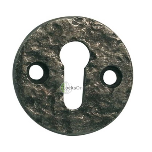 Main photo of LocksOnline Pewter Round Escutcheon