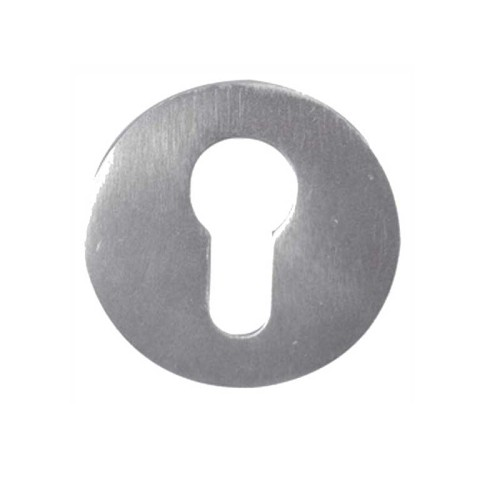 Main photo of LocksOnline Aluminium Euro Profile Keyhole Escutcheon
