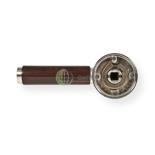 "LocksOnline ""Cuba"" Lever Handle Set on Round Rosette"