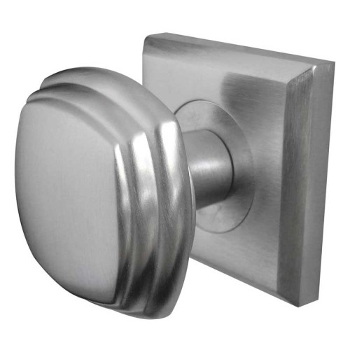Buy Jedo Square Mortice Door Knob Set on Square Rose by Frelan ...
