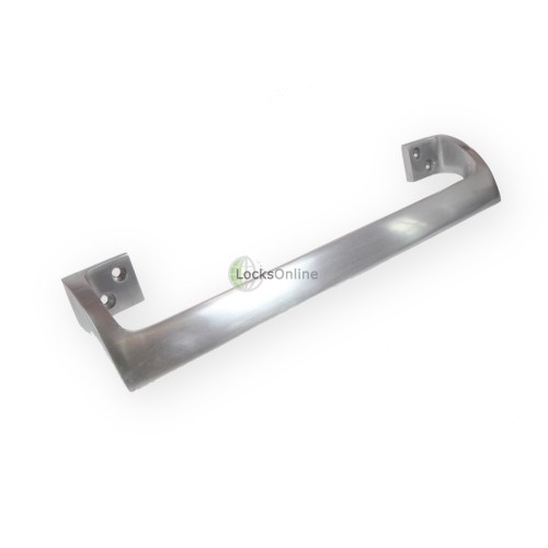 Main photo of LocksOnline Aluminium Cranked Door Pull Handle