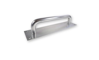 LocksOnline Aluminium Pull Handle on Plate