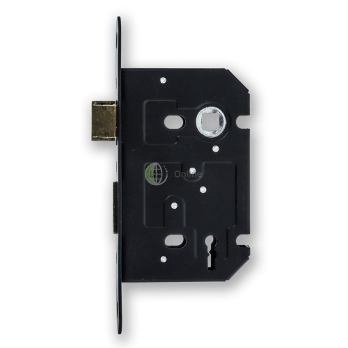 Jedo Black Faced Three Lever Mortice Sash Lock