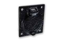 LocksOnline Black Antique Cylinder Cover