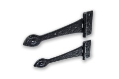LocksOnline Black Antique Traditional Decorative Door Hinge