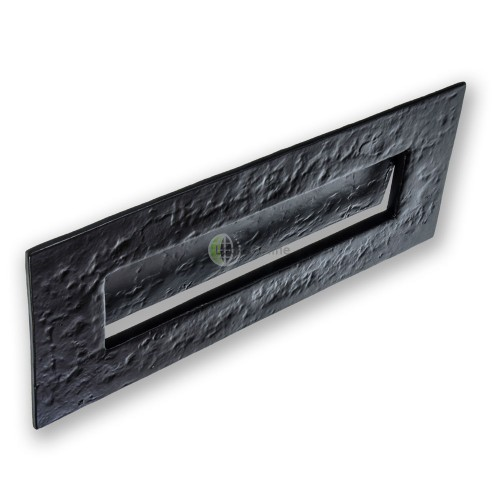 Jedo Black Antique Traditional Letterplate