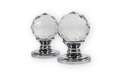 LocksOnline Crystal Mortice Door Knob with Swarovski Elements