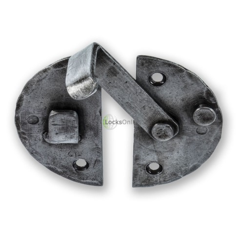LocksOnline Hand-Forged Pewter Cabinet Latch