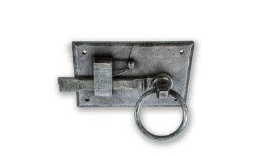 LocksOnline Hand-Forged Pewter Gate Latch