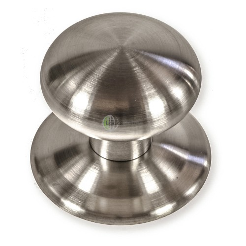 Main photo of LocksOnline Satin Stainless Steel Contemporary Centre Door Knob