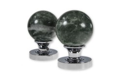 LocksOnline Jade Green Mortice Door Knob Set