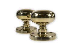 LocksOnline Mushroom Mortice Door Knob Set