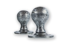LocksOnline Pewter Ball Shaped Mortice Door Knob Set