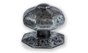 LocksOnline Pewter Centre Door Knob