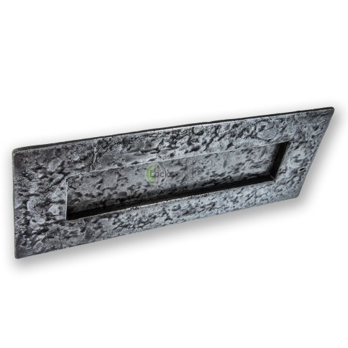 LocksOnline Pewter Traditional Letter Plate