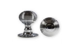 LocksOnline Reeded Rim Door Knob Set