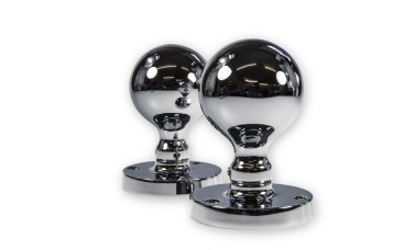 LocksOnline Small Globe Ball Shaped Mortice Door Knob Set