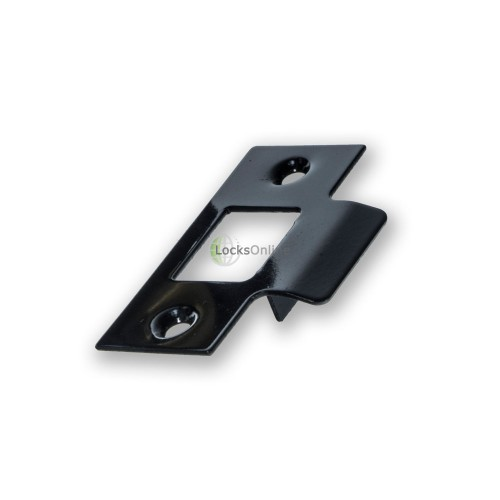 Jedo Black Faced Tubular Latch