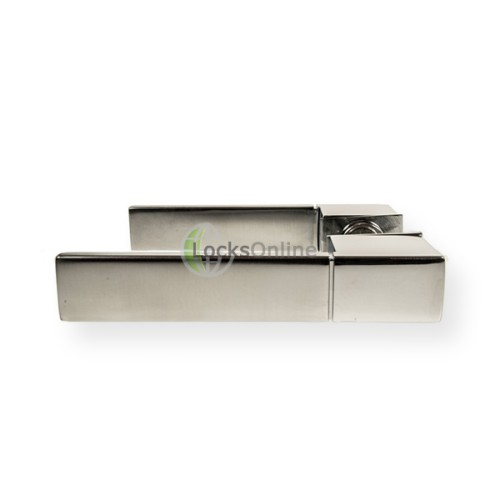 "Main photo of LocksOnline ""Minimal"" Lever Door Handle Set on Concealed Rose"
