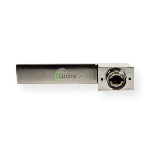 "LocksOnline ""Minimal"" Lever Door Handle Set on Concealed Rose"